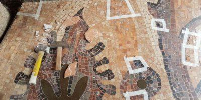 Restauro mosaici Milano