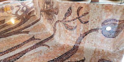 Restauro mosaici Milano1