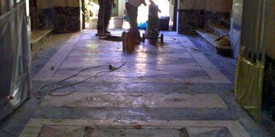 lavorazione restauro pavimenti palladiana