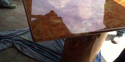 levigatura lucidatura top tavoli