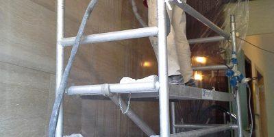 levigatura piano verticale