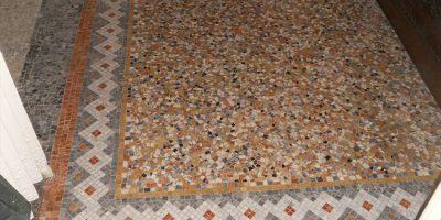 restauro greche mosaici