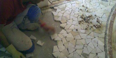 realizzazione greche mosaici