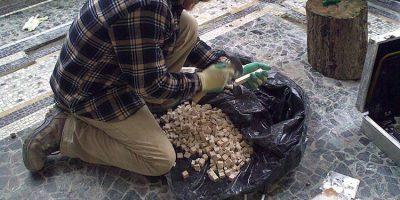 conservazione e restauro pavimenti musivi