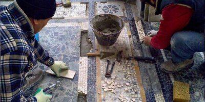 restauro pavimenti musivi milano
