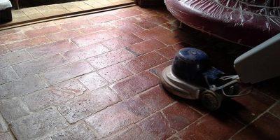 restauro pavimentazioni in cotto antico