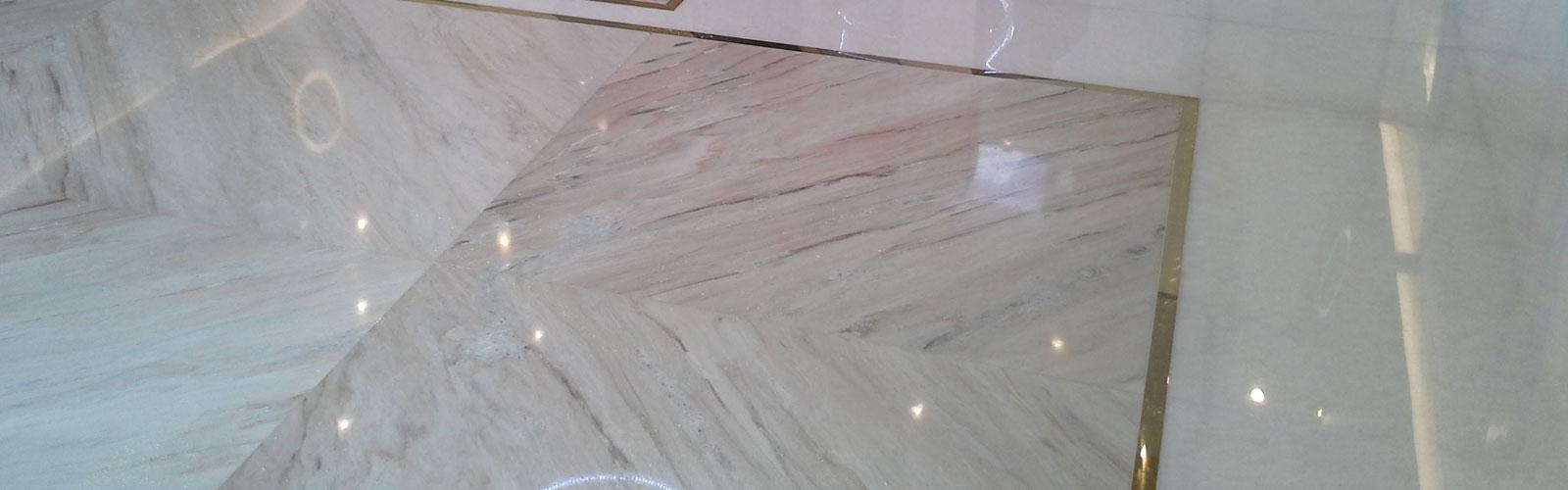 lucidatura pavimenti marmo